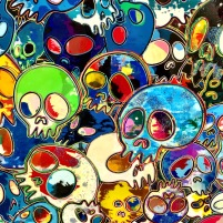 Takashi Murakami, Blue Life Force