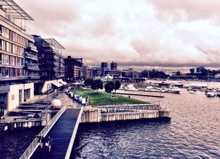 Oslo from Tjuvholmen