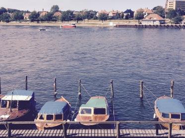 Boats on Østerelva