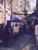 Søndagsmarked på Blå