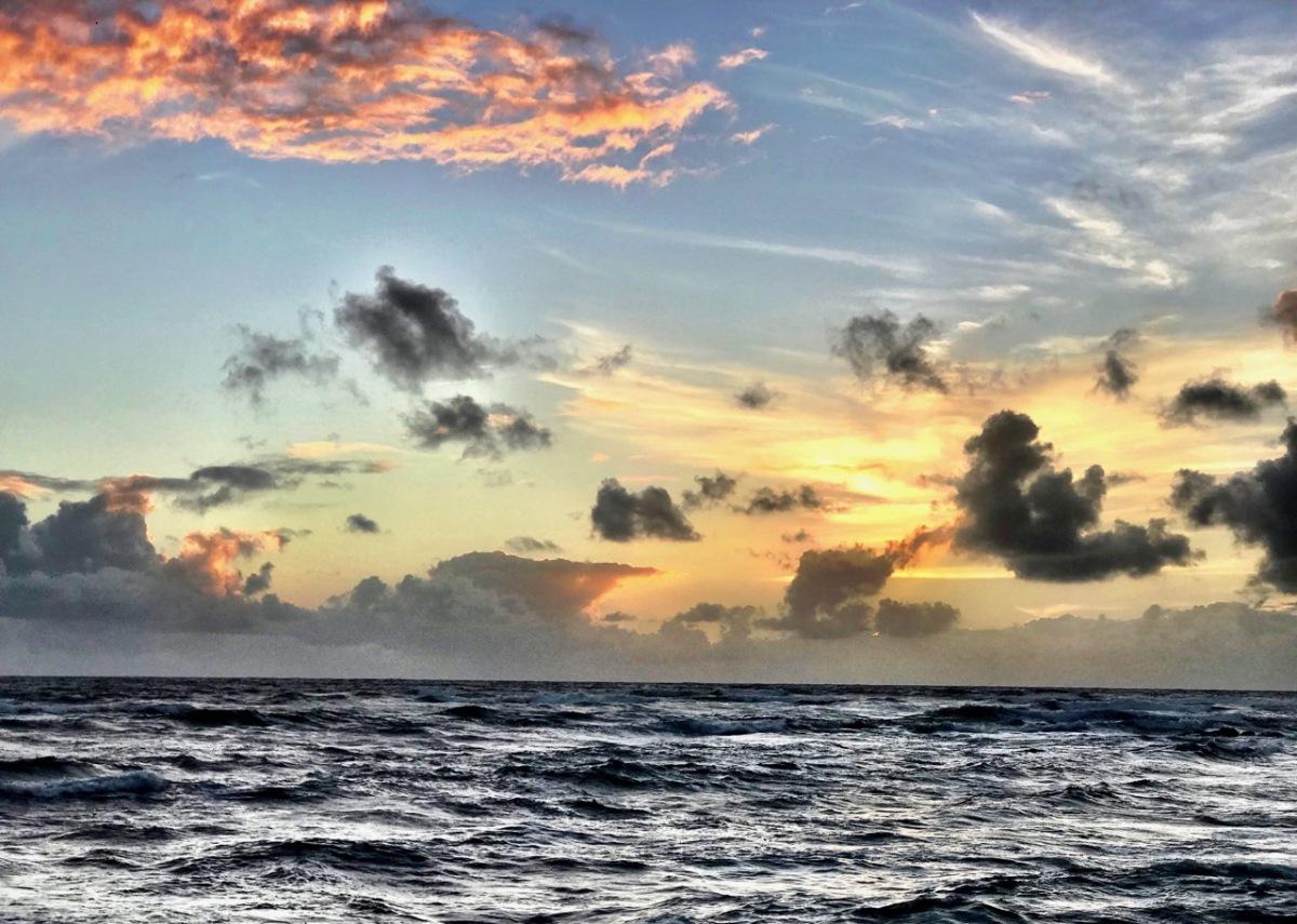First Morning at Wailua Beach